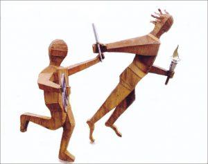 Bejing Olympique sculpture de Roland Issenlor
