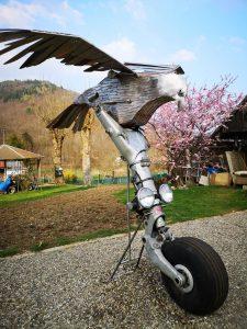 Faucon inox de Roland Issenlor